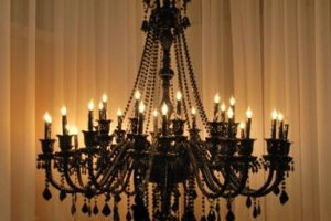 Chandelier light fitting