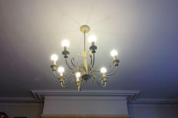 Moving home ad sparks ceiling light aloadofball Images